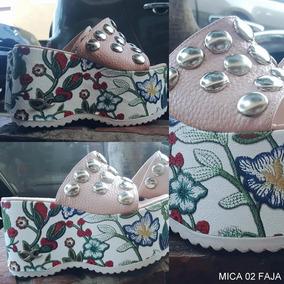 Zaptos Moda Carteras Mujer Sandalia Stiletto Ojotas Fiesta