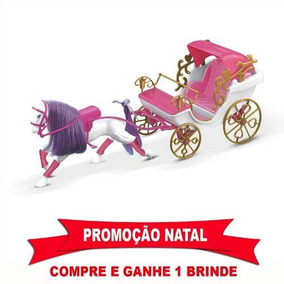Carruagem Real 60cm Para Barbie Ou Princesas Disney Lider
