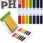 80 Tiras De Acido Alcalino Medidores Ph 1-14 Teste Agua