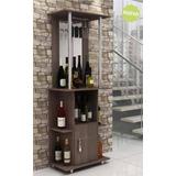 Bar Mueble Con Porta Copas Y Espejo Hogar Web