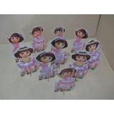 Kit Dora Bailarina ,10 Display De Mesa De 15 Cm,festa
