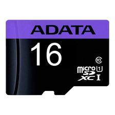 Cartão De Memória Adata Ausdh16guicl10-ra1 Premier 16gb