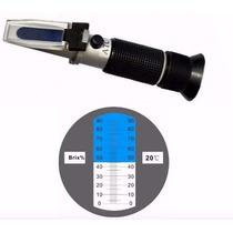 Refractometro Brix Brixometro Azucar Atc 0-32%vinos Jugos Eg