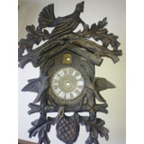 Antigua Caja Reloj Cucu Selva Negra 1915 Se Importaban