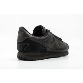 Tenis Nike Cortez Qs Basic 72 Black Retro, Originales, 27,28