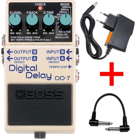 Pedal Boss Dd 7 Guitarra Digital Delay Dd7 Original Kadu Som