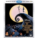 Blu Ray El Extraño Mundo De Jack 3d + Dvd Slip Cover Tridime