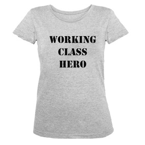 Remera Talle Especial Dama Working Class Hero Md2 Lennon