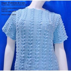 Polos Para Dama- Tejidos A Crochet- Colores Varios-diseños
