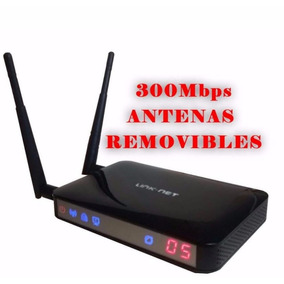 Router Link-net N915r Inalambrico 300mbps 2 Dos Antenas Xtc