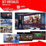 Set Virtual Compatible Para Vmix Tricaster