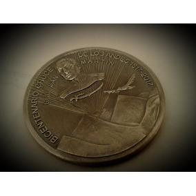 Medalla Bicentenario Cruce De Los Andes - Gral. San Martín