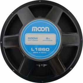 Woofer Moon 18 Pulgadas 600 Watts Parlante Bobina 2 Adv