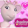 Kit Angelina Ballerina Convites Cartões Convites Lembrança