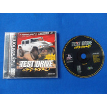 Test Drive Off-road Psone Ps1 Playstation Retromex Tcvg