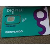 Lineas Usim 4g 3g Bam Telefono Digitel Sale A Su Nombre