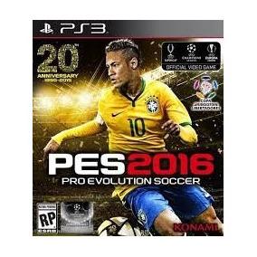 Pro Evolution Soccer 2016 Pes 16 Ps3 Midia Digital Psn