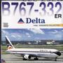 Avión Escala1/400 Dragon Wings Delta 767-332
