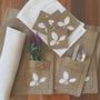 Manteles Con Porta Cubiertos + Porta Vasos + Panera