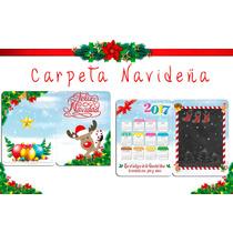 Folder Fotografico ,tarjeta Navideña,calendario 2017,navidad
