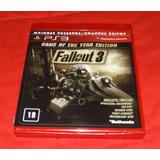 Fallout3 Fallout 3 Ps3 Físico Nuevo Sellado Playstation 3