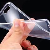 Capa Iphone 6 6s Apple Case Capinha Silicone Tpu Transparent