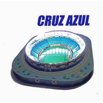 Maqueta Estadio Azul 3d Con Led