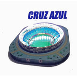 Maqueta Estadio Azul 3d Con Led