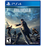 Juego Ps4 Sony Final Fantasy Xv ( Físico)