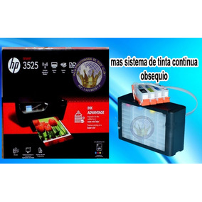 Impresora Hp 3525 Nueva+sistema De Tinta De Lujo Full Tinta
