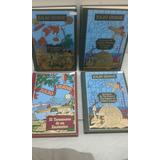 4 Titulos De Julio Verne - Tapa Dura Usados Impecables