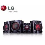 Equipo De Sonido Lg 1100 Rms Usb Bluetooth Modelo Cm5760