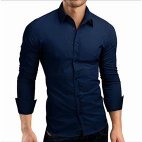 Camisa Slim Fit Hombre Vestir Casual Caballero 2018