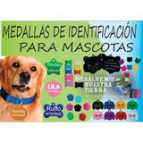 Dijes De Identificacion Mascotas
