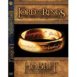Saga El Señor De Los Anillos Y El Hobbit Dvd Latino