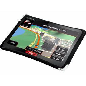 Gps Automotivo Quatro Rodas 4.3 Slim 3d Touch Alerta Radar