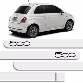 Kit Friso + Sensor De Estacion Pintado Fiat 500 Branco Caldo