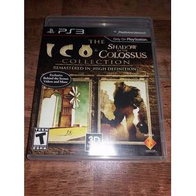 Ico & Shadow Of The Colossus Ps3 Mídia Física