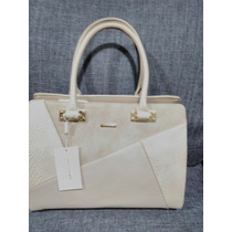 Bolsa Beige David Jones