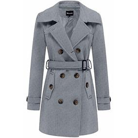 Abrigos color gris para dama