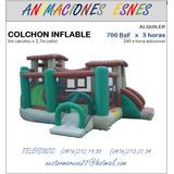 Alquiler Colchon Inflable Cotufera Algodonera Fuente