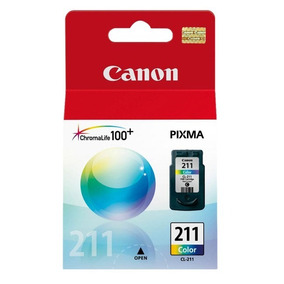 Cartucho Canon Cl 211 Color Mp240 Mp250 Ip2700 Districomp
