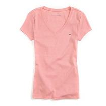Camiseta Cuello En V Tommy Hilfiger Mujer