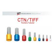 Terminales Puntera Hueca 1.5mm Tiff Ctn Pack X 100 Lct