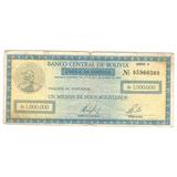 Billete Bolivia 1.000.000 Bolivianos Cheque Gerencia 1985