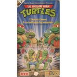 Las Tortugas Ninja Vol 5 Turtles Vhs Dibujos Animados