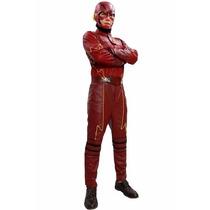 Disfraz De Flash Super Heroe Para Adultos Envio Gratis
