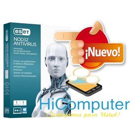 Eset Nod32 Antivirus V9 Original | 1 Año 5 Pc