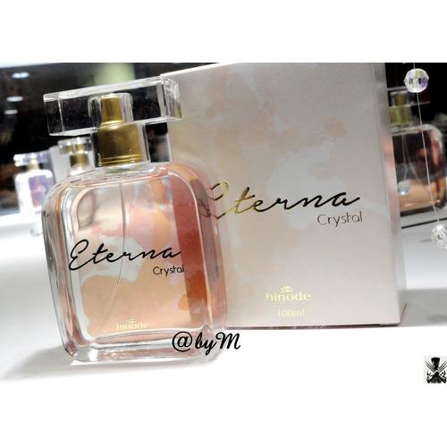 Perfume Eterna Crystal Mulher Romantica Doce Sedutor Delicad