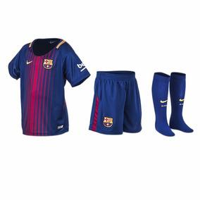 Kit Fc Barcelona Oficial Kids - Dia Del Niño Poco Stock-